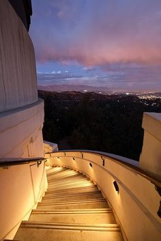 Griffith Park Observatory at Los Angeles, CA