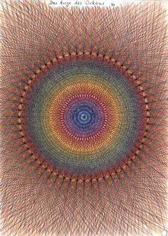 geometric drawings from Cornelius Reis of the Waldorf School in Haan-Guiten in Germany.