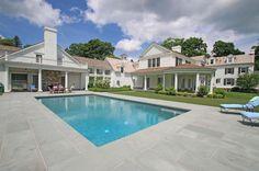 390 Oenoke Rdg, New Canaan, CT 06840 | 11,589 sf | 6 bed | 6 full 2 half bath | built 1920 | 4.31 acres | $6,995,000.