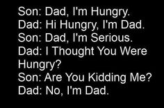 Dad & Son conversation