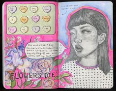 Sendra #art #journal #sketchbook