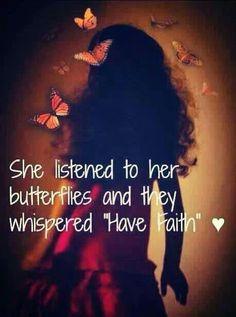 Have faith...