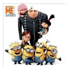 The Minions - Group, Gru, Agnes, Margo & Edith Gru And Minions, Happy Minions, Cute Minions, Despicable Me, Minion Birthday, Minion Party, Minion Pictures, Pictures To Draw, Disney Phone Wallpaper