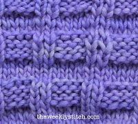The Weekly Stitch belt weave
