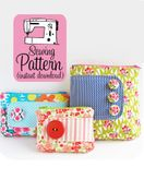 Image of Zip Pouches PDF Sewing Pattern
