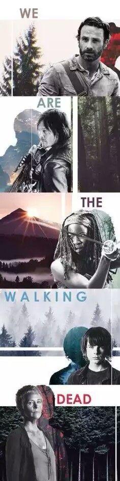 We WERE The Walking Dead. RIP Carl Grimes.
