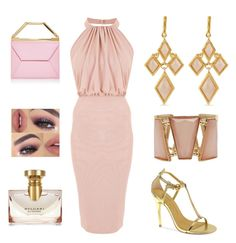 """""""Classy Lady"""" by lovely-naledi on Polyvore featuring Karen Kane, M&Co, Chinese Laundry and Bulgari"""