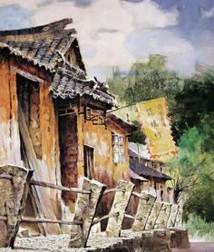 realistic pursuit of watercolor art by Ye Xianmin