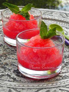 Granité au melon et au Sprite - Trop bon et rafraîchissant!