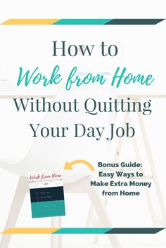 Earn Money at home Using Internet - Need a flexible way to supplement your income that doesnt interfere with your Check out these ways to work from home without quitting your day. You're copy pasting anyway.Get paid for it. Work From Home Jobs, Make Money From Home, Way To Make Money, Money Fast, Earn Money Online, Online Jobs, Earning Money, Home Based Business, Business Ideas