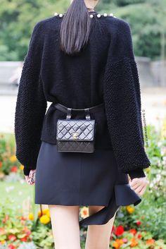 Ming Xi at Rochas SS 2015 Paris Snapped by Benjamin Kwan Paris Fashion Week