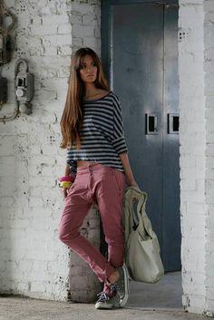 Khaki Pants, Collection, Fashion, Khakis, Moda, La Mode, Khaki Shorts, Fasion, Fashion Models