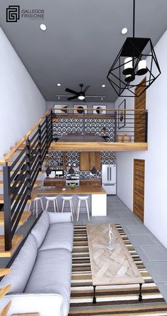 tiny house design / tiny house - tiny house plans - tiny house design - tiny house living - tiny house ideas - tiny house on wheels - tiny house bathroom - tiny house interior Tiny House Cabin, Loft House, Tiny House Living, House Rooms, Tiny House With Loft, Small Living, House Floor Design, Small House Design, Modern House Design