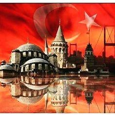 Tarihini kanla yazmış bir milleti kan dökerek korkutamazsınız.. #şehitler#ölmez#vatan#bölünmez#hayırlı#kandiller#dua#ile#sakarya#istanbul