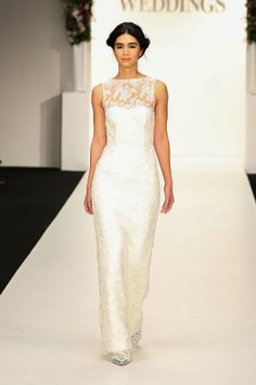 Hot off the runway | New Zealand Weddings Magazine Dress by Sera Lilly, shoes from Mi Piaci