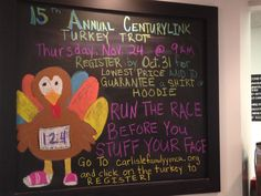 Turkey trot promotion at the y