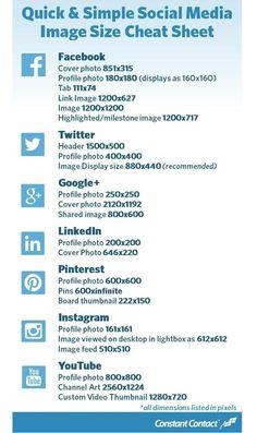 Social media image Les dimensions à connaitre pour optimiser ses images sur les réseaux sociaux