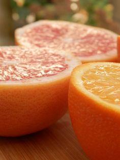 Jus de pamplemousse et orange au gingembre