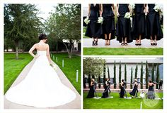 Sculpture Garden Bridal Party- ahhhhh, I don't even need a groom, let's get married there, now