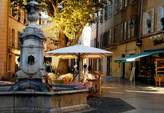 take me here. relaxing vacation spot in Aix-en-Provence, France