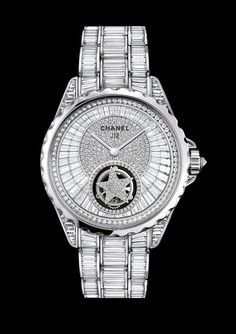 Chanel J12 Flying Tourbillon High Jewellery Edition Watch Ring Armband 0b5606f469