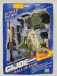82719558492 GI Joe Hall of Fame Jungle Patrol Mission Gear M-16 Missile Launcher NEW