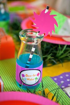 Lorax themed birthday party via Kara's Party Ideas