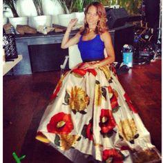 Denise Vasi! Gorgeous skirt! I love it!
