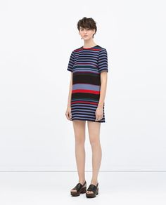ZARA - COLLECTION SS15 - STRIPED DRESS