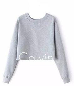 Just In Calvin Klein Logo Pullover Sweatshirt Shop Now! #love #ootd #obsesses