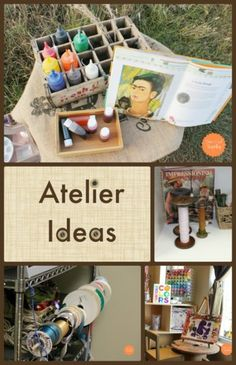 Atelier Ideas from Fairy Dust Teaching! #art #reggioinspired