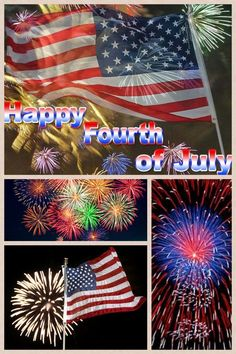 Fourth of july pic collage