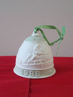 Vintage Lladro Christmas Ornament Bell. Collectible 303c477d9476