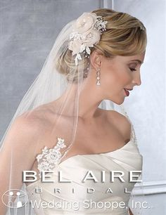 Bel Aire Bridal Veils V7201  Here is your veil again for $138