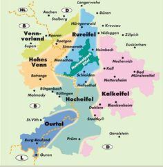 Naturpark Hohes Venn - Eifel und Nationalpark Eifel