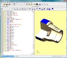 The Predator CNC Editor Free Software is perfect for any programmer, hobbyist, or shop floor user to edit, save, print, and modify NC Code.