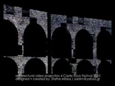 architectural video projection made for castle rock festival 2010 in the city of Ioannina, Greece at 24 of July Rock Festivals, Castle Rock, Greece, Architecture, City, Arquitetura, Architecture Illustrations, City Drawing, Grease
