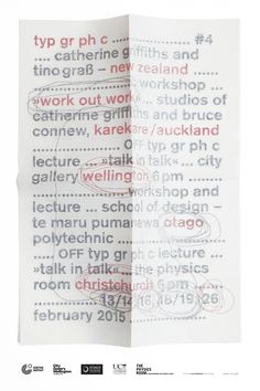 Catherine Griffiths typ gr ph c poster