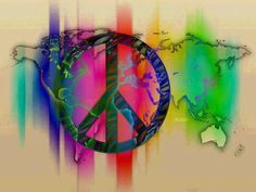 Peace Perfect Peace, Make Peace, Peace And Love, Hippie Things, Hippie Love, Peace Sign Art, Peace Signs, Peace Love Happiness, Unity In Diversity