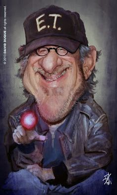 STEVEN SPIELBERG........ FOLLOW THIS BOARD OR ANY OF THE OTHER CARICATURE BOARDS THAT I HAVE...