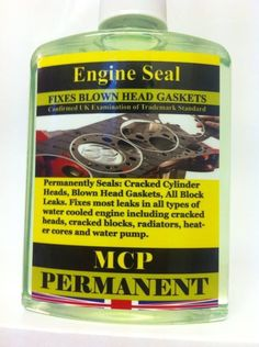 STEEL SEAL HEAD GASKET REPAIRS,,,GUARANTEED ,MCP, 2x 32 OZ 6&8 CYLINDER,,4x16 OZ
