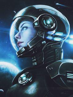 Mujer Astronauta
