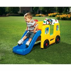 Little Tikes School Bus Activity Gym - indoors or out!