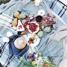 beautiful picnic ideas, outdoor picnic in the forest, food photography