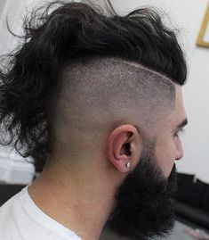 40 Funky Men's Undercut Hairstyles and Haircuts
