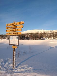 Crosscountry skiing, wuhuu! Levi Finland
