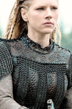 Looks like this is from the show Vikings on the History Channel. While I know styles of this armor existed, I am not sure as to the accuracy of the time and location.