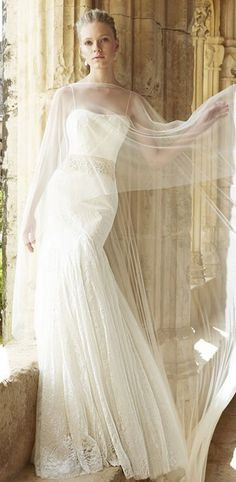 Wedding dress idea; Featured Dress: Raimon Bundo
