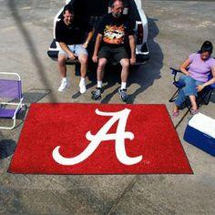 Alabama Crimson Tide Tailgate Mat Rug