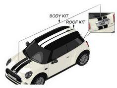 Mini Cooper Sport Stripes Roof & Body Oem Gen3 F56
